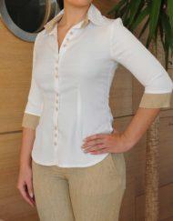 camicia-con-bottoni-maniche-tre-quarti-pantalone-coordinato