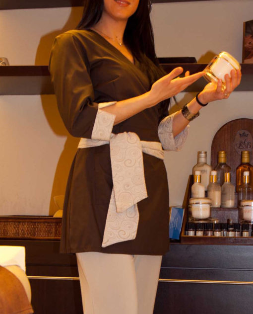 Kimono tessuto 4/3 cotone poliestere