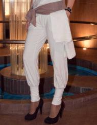pantalone donna maglina di cotone